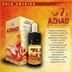 Gold America Liquido Concentrato di Azhad's Elixirs Linea Non Filtrati da 10 ml Aroma Tabaccoso