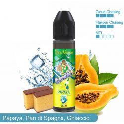 Capoeira Papaya Liquido Scomposto Iron Vaper Aroma da 20ml