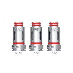RPM Resistenze RGC Smok per Pod Kit RPM80 e RPM80 Pro Head Coil da 0.17 ohm - 5 Pezzi