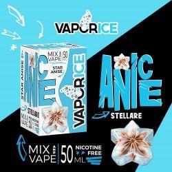 Anice Stellare Liquido Scomposto Vaporart Linea Vaporice Aroma Mix & Vape 50 ml