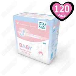 Pannolini per bambini 16-30 kg Egosan Large - confezione da 120 pz.