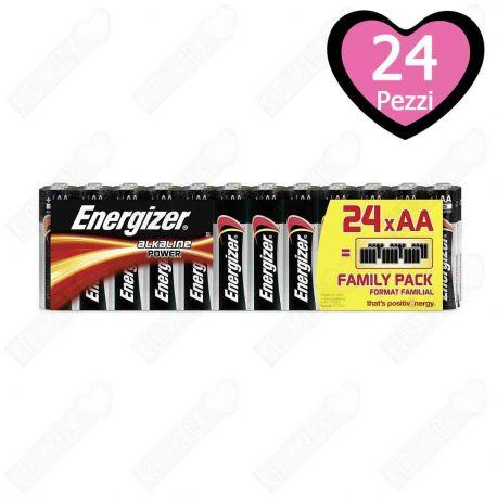 Energizer AA Stilo Formato Famiglia 24 pz.