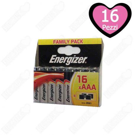 Energizer AAA MiniStilo Formato Famiglia 16 pz.