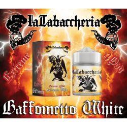 White Baffometto Liquido La Tabaccheria Evolution Linea Extreme 4 Pod Aroma 20 ml