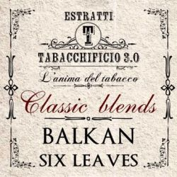 Balkan Six Leaves Aroma Concentrato Estratti Tabacchificio 3.0 20 ml