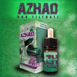 Turkish Delight Liquido Concentrato di Azhad's Elixirs Linea Non Filtrati da 10 ml Aroma Tabaccoso