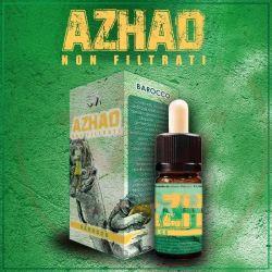 Barocco Liquido Concentrato di Azhad's Elixirs Linea Non Filtrati da 10 ml Aroma Tabaccoso