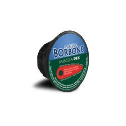 90 Miscela Verde Decaffeinato Capsule Caffè Borbone compatibili Dolce Gusto