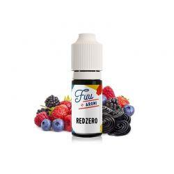 Redzero Liquido 10 ml FUU Aroma Frutti Rossi e Liquirizia