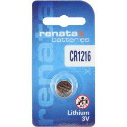 CR1216 Batterie Renata a Bottone - Pila al Litio 3V