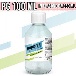 Base Neutra 100ml Booster 100% PG in Flacone da 250ml - Glicole Propilenico