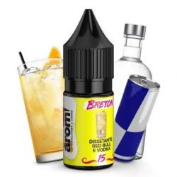 Breton N.15 Liquido Aromì Easy Vape Aroma 10 ml Energy Drink e Vodka