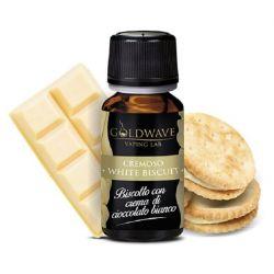 White Biscuit Liquido Goldwave Aroma 10 ml Biscotto Cioccolato Bianco