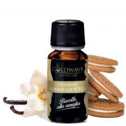Vanigliotto Liquido Goldwave Aroma 10 ml Biscotto Crema alla Vaniglia