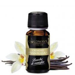 Vaniglia Liquido Goldwave Aroma 10 ml Bacche di Vaniglia