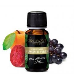 Summer Vibes Liquido Goldwave Aroma 10 ml Uva Albicocca Fico