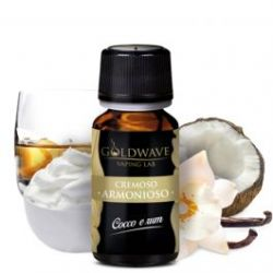 Armonioso Liquido Goldwave Aroma 10 ml Cocco e Rum