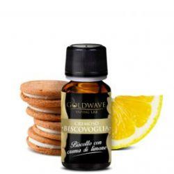 Biscovoglia Liquido Goldwave Aroma 10 ml Biscotto al Limone