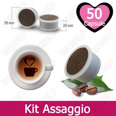 Kit Assaggio Tre Venezie Capsule Caffè Compatibili Lavazza Espresso Point - 50 Pezzi