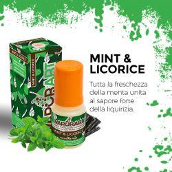 Mint & Licorice Liquido Pronto Vaporart 10 ml Aroma Fresco e Mentolato