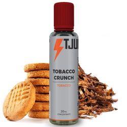 Tobacco Crunch Liquido Scomposto T-Juice 20ml Aroma Tabacco Biscotto Vaniglia