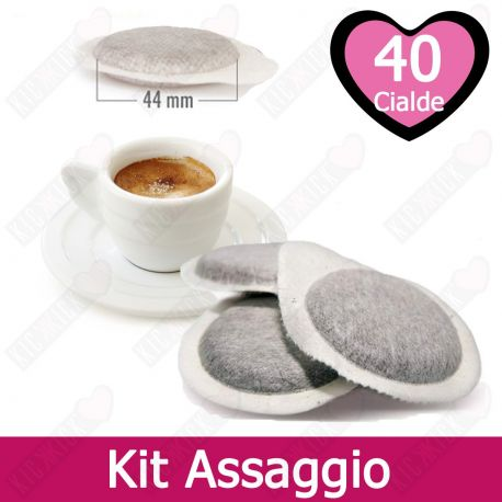 Kit Assaggio Cialde in Carta Ese 44 Caffè Tre Venezie