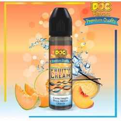Fruity Cream Liquido Scomposto Doc Flavors 20 ml Aroma Vaniglia Pesca Melone Ice