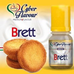Brett Liquido Cyber Flavour Aroma 10 ml Biscotti al Burro Salato