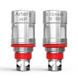 HP Mesh Resistenze Artery Head Coil 0.7 ohm e 1.2 ohm - 5 Pezzi