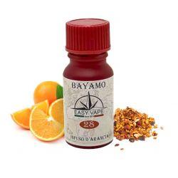Bayamo N.28 Liquido Easy Vape Aroma 10 ml Arancia