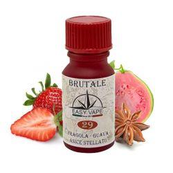 Brutale N.29 Liquido Easy Vape Aroma 10 ml Fragola Guava Anice