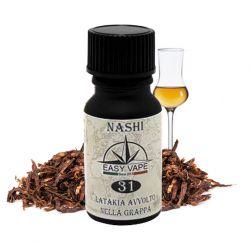 Nashi N.31 Liquido Easy Vape Aroma 10 ml Tabaccoso