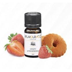 Crispy Strawberry Liquido Flavourage Aroma 10 ml Biscotto e Fragola