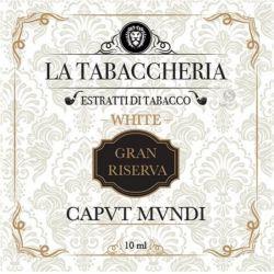 Caput Mundi Gran Riserva White Version La Tabaccheria Aroma 10 ml Tabaccoso