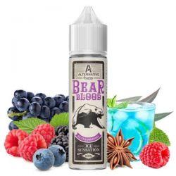 Bear Blood Alternative Vapor Liquido Scomposto 20ml Frutti Rossi Eucalipto Anice Uva Mentolo