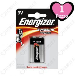 Energizer 9V Alkaline Power Transitor - Blister da 1 Pila