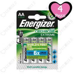 Energizer Stilo AA 2300 mAh - Blister da 4 Batterie Ricaricabili