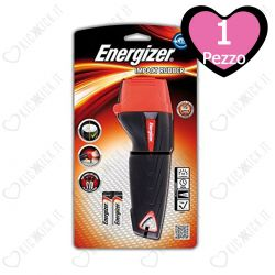Torcia Energizer a Led In Gomma Media - Impact Rubber 2xAA