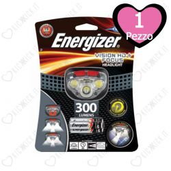 Torcia a Led Frontale Energizer Vision HD+ Focus