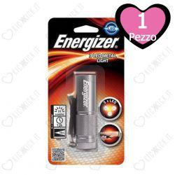 Torcia Elettrica in Metallo Portatile Energizer 3 Led Metal Light