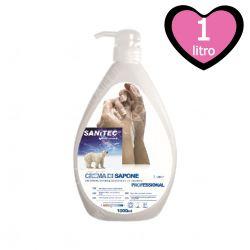 Crema di Sapone per Mani con Antibatterico 1000 ml