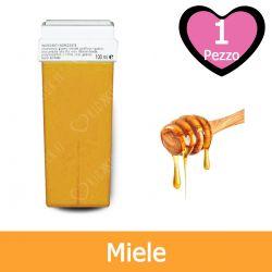 Cartuccia Cera per Rullo Roll-On per Depilazione al Miele Naturale 100 ml
