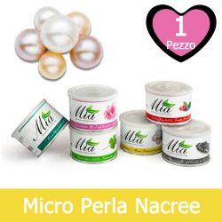 Cera Depilatoria Micro Perla al Biossido di Titanio Liposolubile in Barattolo 400 ml