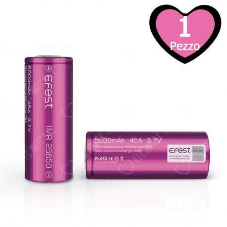 Batterie Efest IMR 26650 45A Flat Top