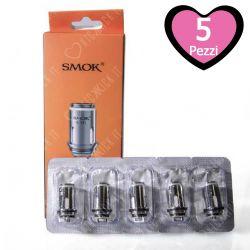 Resistenza Smok Stick AIO Head Coil per Atomizzatori Kit Stick AIO e Priv One - 5 Pezzi
