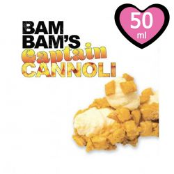 Captain 50 ml Mix&Vape Bam Bam's Cannoli