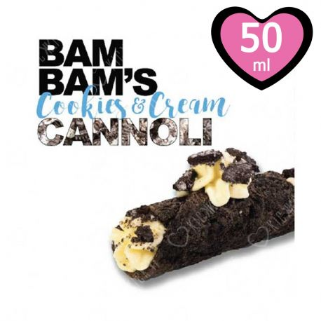 Cookies & Cream 50 ml Mix&Vape Bam Bam's Cannoli