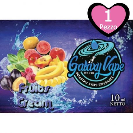 Fruits Cream Galaxy Vape 10 ml