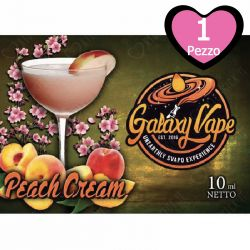 Peach Cream Galaxy Vape 10 ml