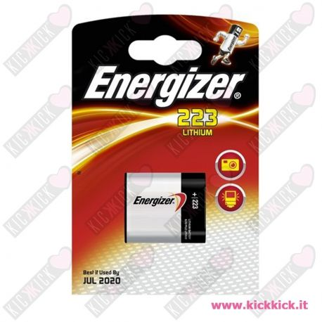 Energizer 223 Pila 6V Litio per Fotografia - Blister 1 Batterie